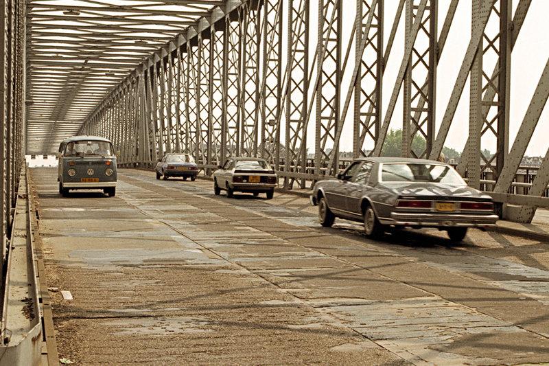 Historisch  Rotterdam, Willemsbrug 1981, Stadsarchief Rotterdam