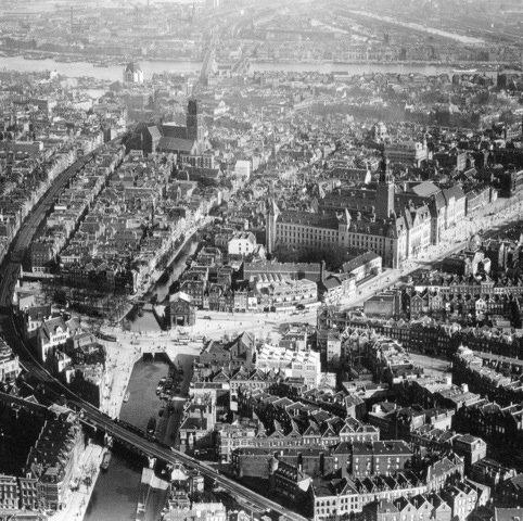 Historisch Rotterdam, Luchtfoto 1935 , Stadsarchief
