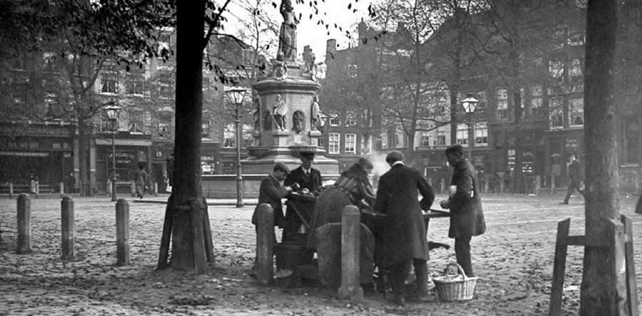 Historisch Rotterdam Nieuwe Markt 1895, Stadsarchief Rotterdam
