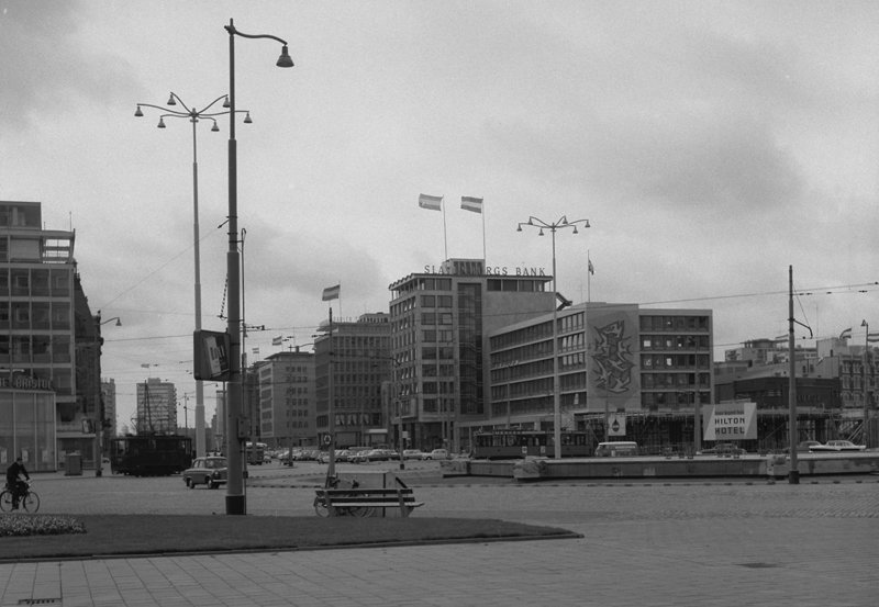 Historisch Rotterdam, Hofplein 1961: Jan Roovers