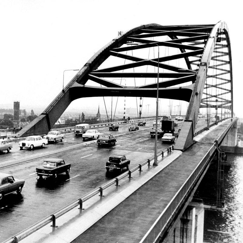 Historisch Rotterdam, brienoordbrug 1965,  Stadsarchief
