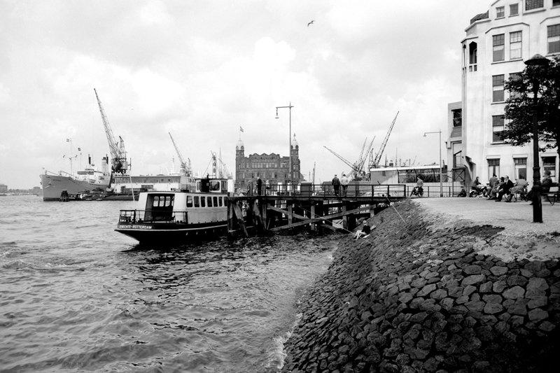 Historisch Rotterdam, heen en Weer, Katendrecht, Kop van Zuid, Hotel New York Jan Roovers