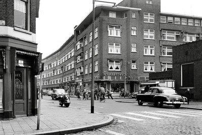 Historisch Rotterdam, Zwaanshals 1955, Jan Roovers