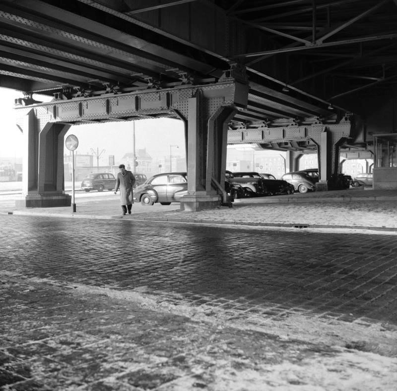 Historisch Rotterdam, Station Blaak 1950, Jan Roovers