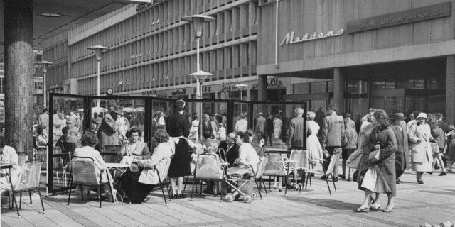 Historisch Rotterdam, Stadhuisplein 1960, Jan Roovers