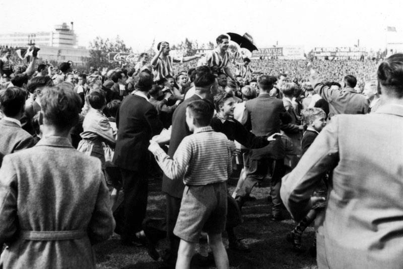 Historisch Rotterdam Sparta kampioen 1959, Kasteel, fotograaf: Vrije Volk