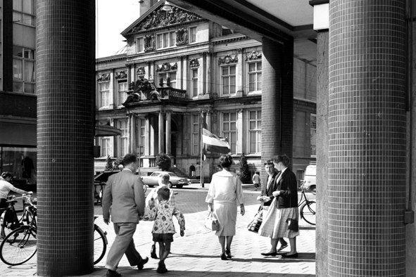 Historisch Rotterdam, Schielandshuis, 1958: Jan Roovers