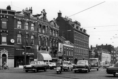 Historisch Rotterdam, Heulbrug, Schiekade 1957, Jan Roovers