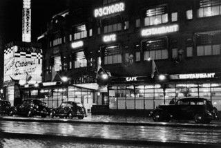 Historisch Rotterdam,  Pschorr aan de Coolsingel 1935 Uitgeverij Voet