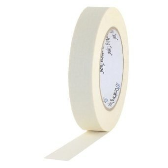 "1"" White Paper Tape"
