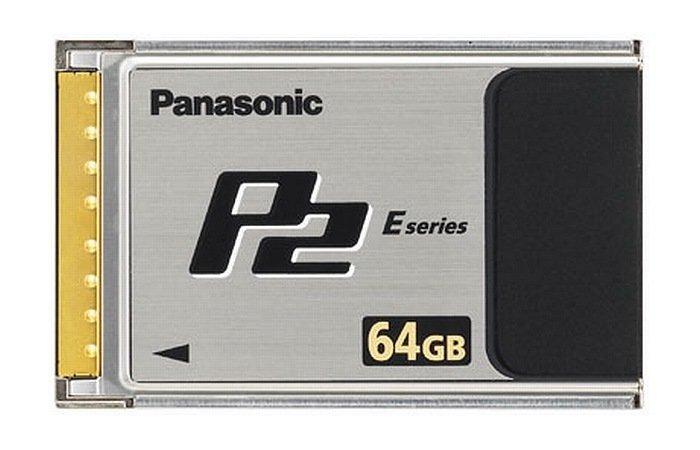 Panasonic 64 GB P2 Card