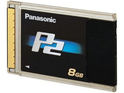 Panasonic 8 GB P2 Card