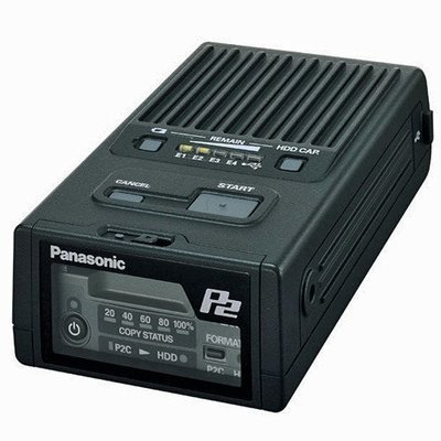 Panasonic P2 Card Portable Hard Disk Download Unit