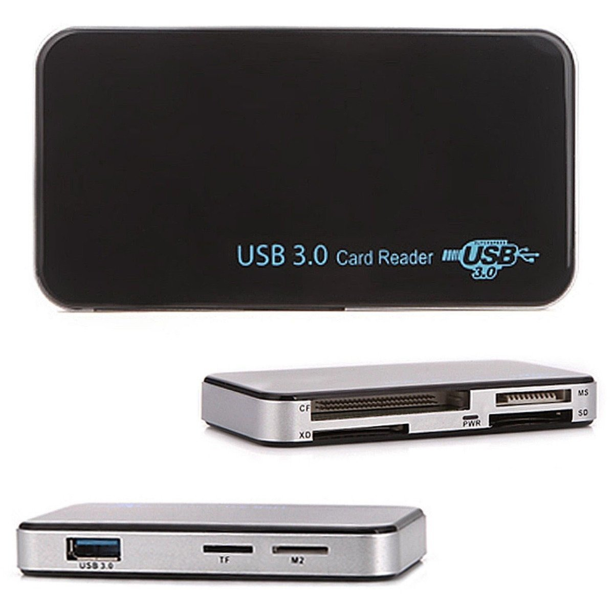 USB 3.0 Compact Flash/Memory Card Reader