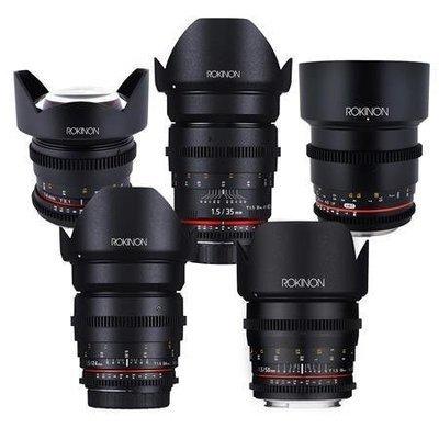 Rokinon Lens Package - 5 Lenses