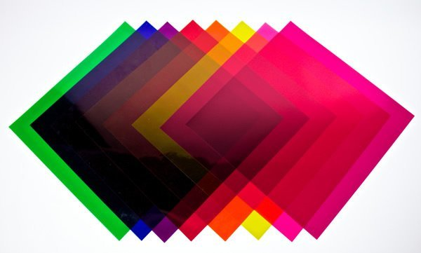 """21"""" x 24"""" Theatrical Gel Sheets"""