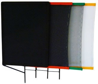 "18"" x 24"" set (single; double; silk; 2 solids)"