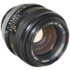 Canon FD Mount -55mm @58mm ring