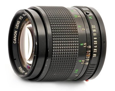 Canon FD Mount -85mm @52mm ring