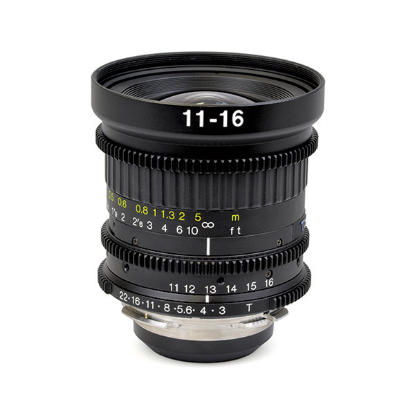 Tokina PL Mount 11-16mm Zoom Lens T3.0