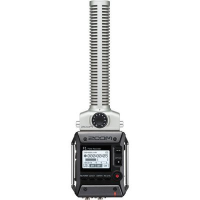 Zoom F1-SP Field Recorder + Shotgun Mic