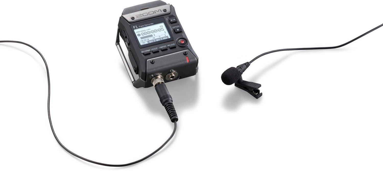 Zoom F1-LP Field Recorder + Lavalier Mic