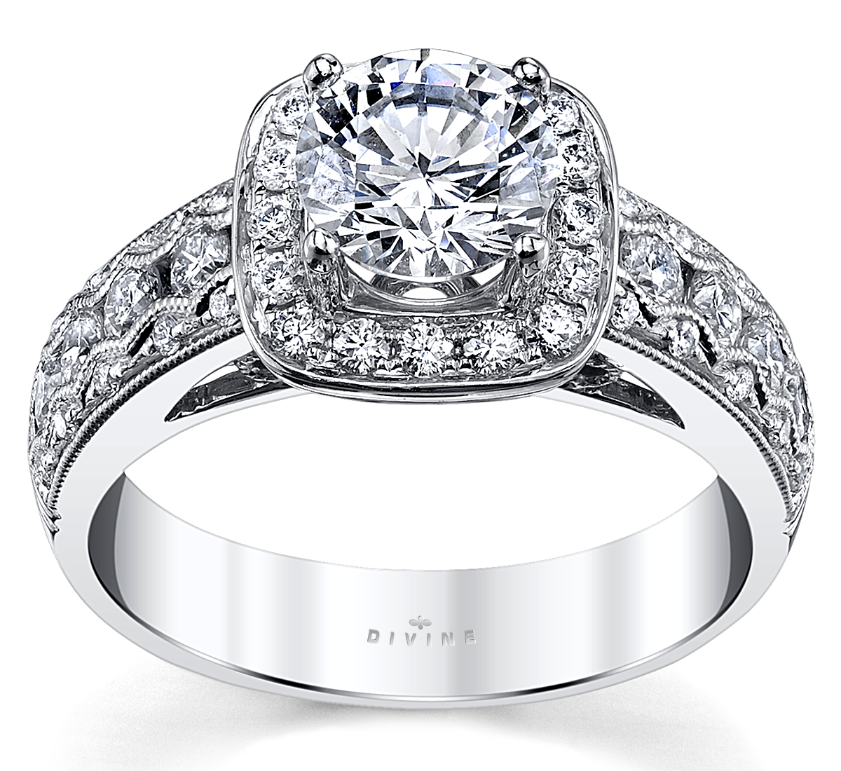 pave collections in sea engagement made cut diamonds halo set dimond york ring best custom shop new wave diamond products district round rings