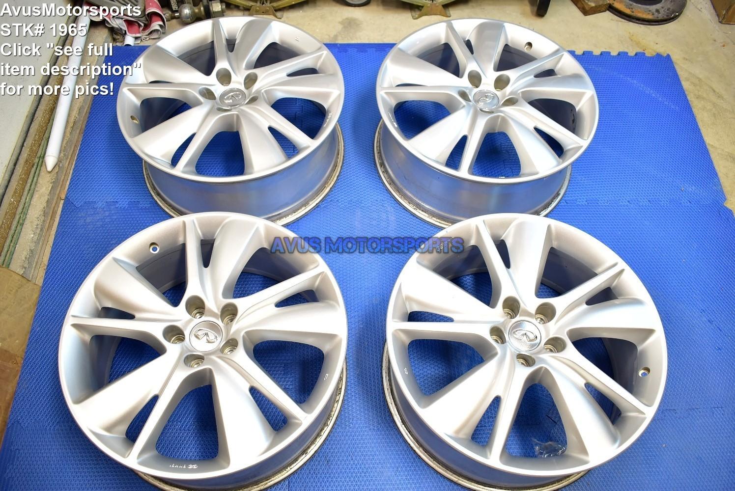 "20"" Infiniti FX35 FX37 FX50 QX70 Factory OEM Wheels D03003EV8A"