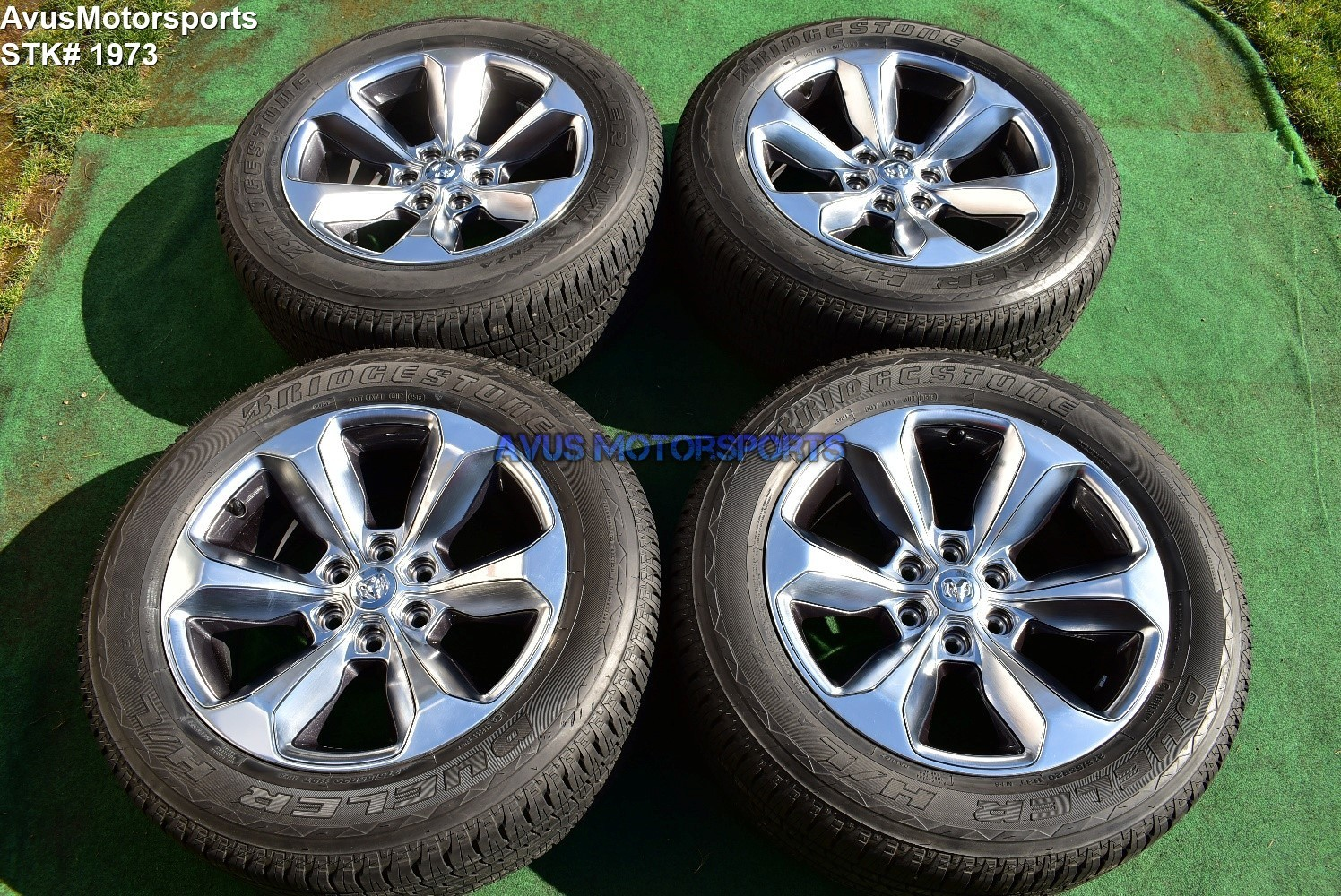"20"" Dodge Ram Limited OEM Factory Polished Wheels 1500 Genuine 2019 tires"