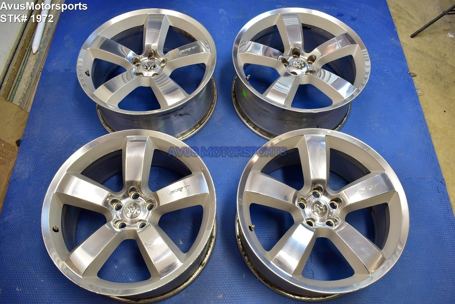 """20"""" Dodge Charger SRT OEM Factory Polished Wheels SRT8 chrysler 300 Challenger"""
