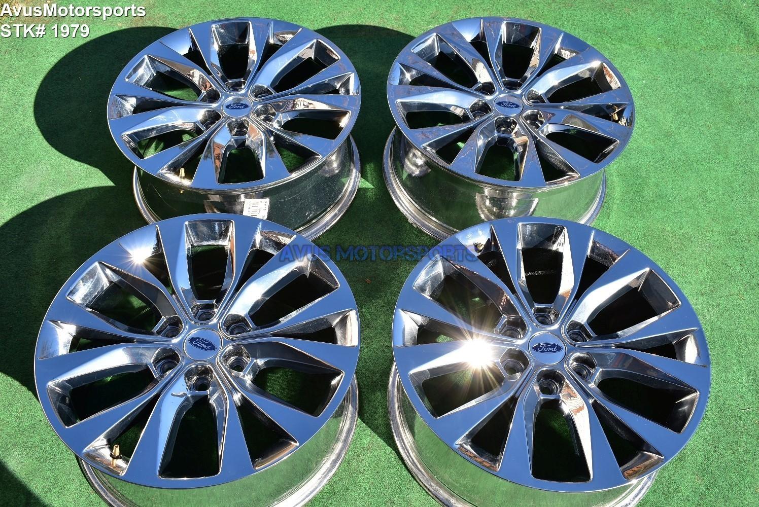 """20"""" Ford F150 OEM Factory Chrome PVD Wheels Expedition Lariat FX4 2016 2017 2018"""