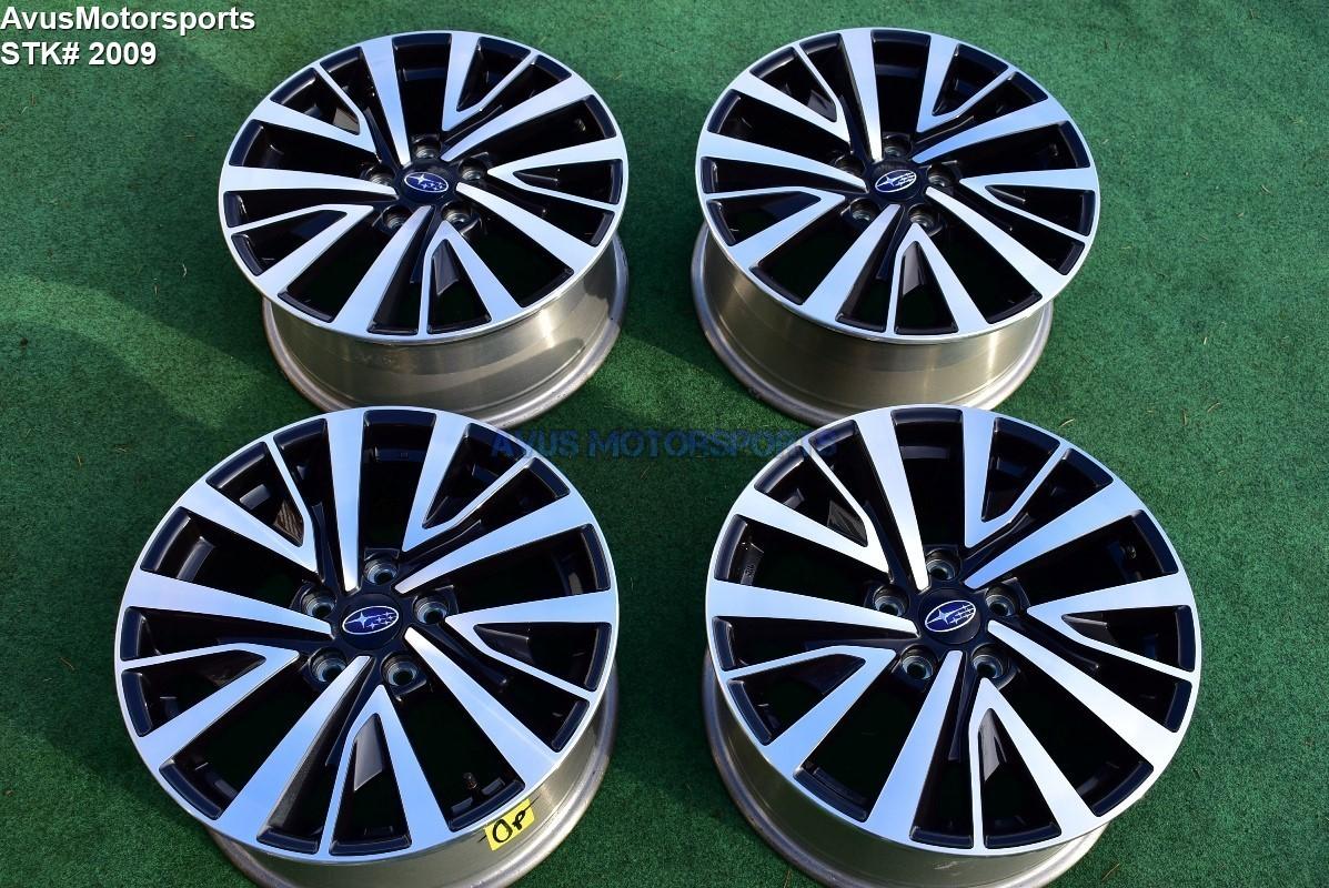 "2019 Subaru Legacy Premium OEM 17"" Factory Wheels Outback 5x114 2016 2017 2018"