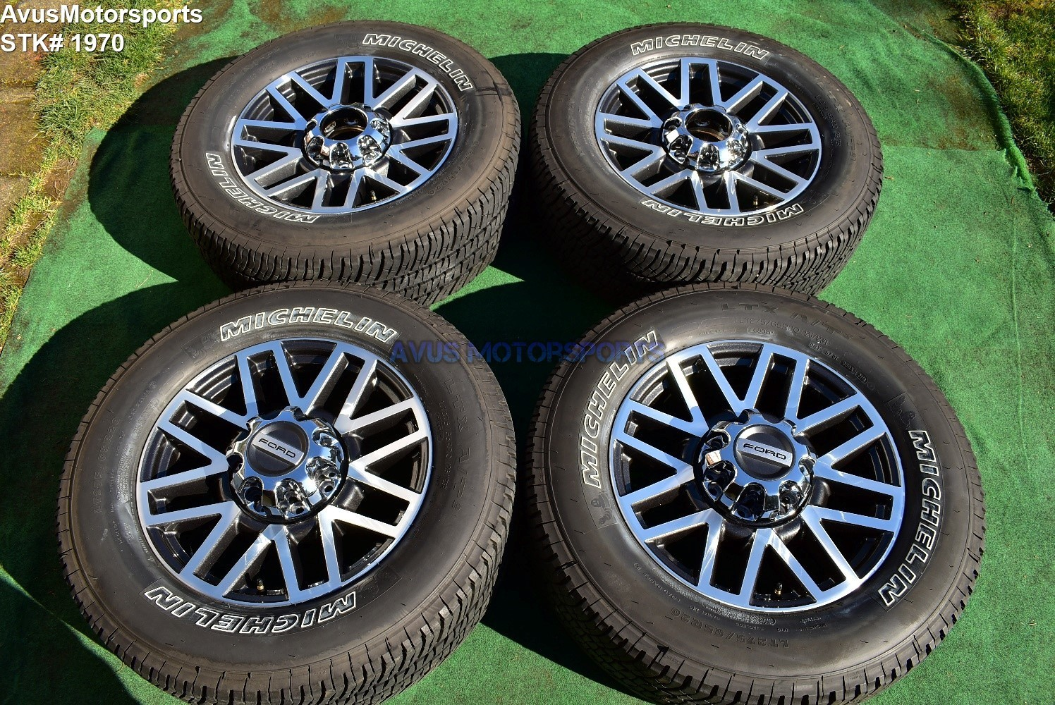 "20"" Ford F350 Super Duty Platinum OEM Factory Polished Wheels F250 2018"