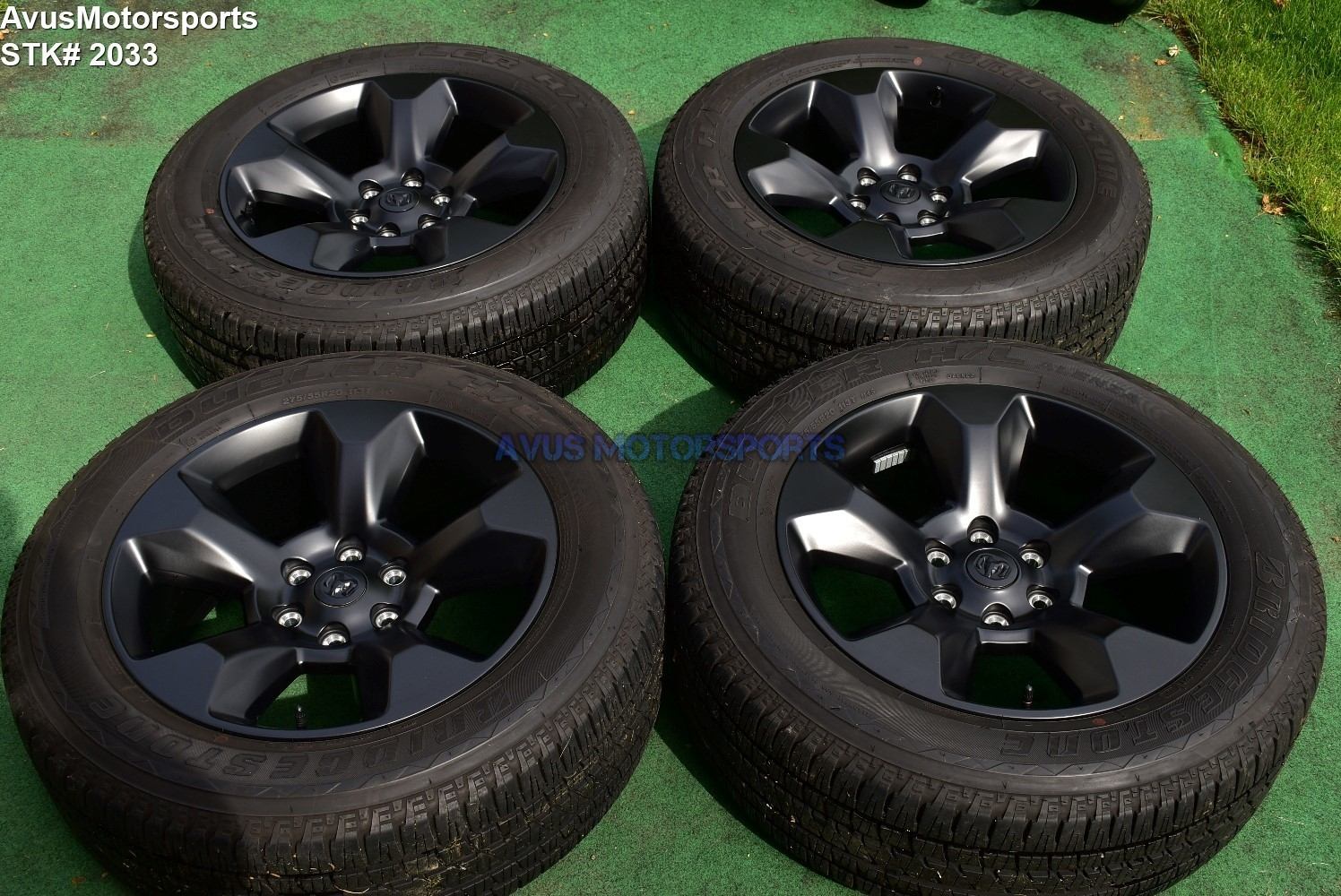 "20"" Dodge Ram 1500 OEM Factory Midnight Edition Black Wheels Genuine 2019 tires"