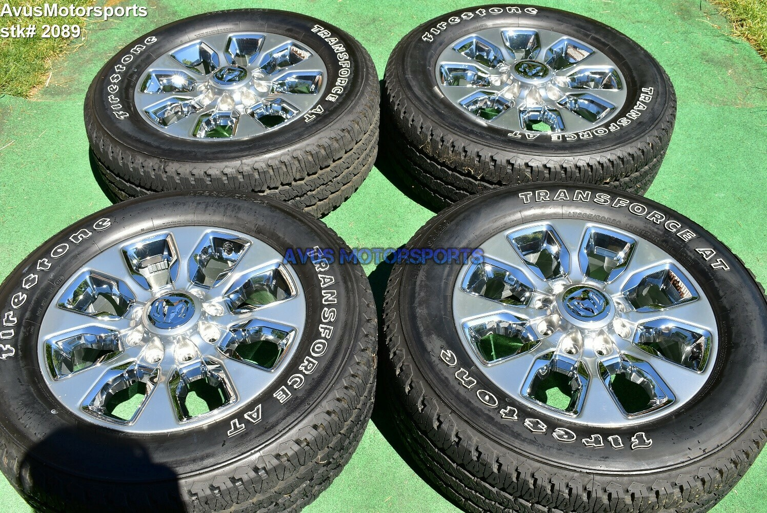 "20"" Dodge Ram 2500 3500 Limited Edition OEM Factory Wheels Tires 2019 2018"