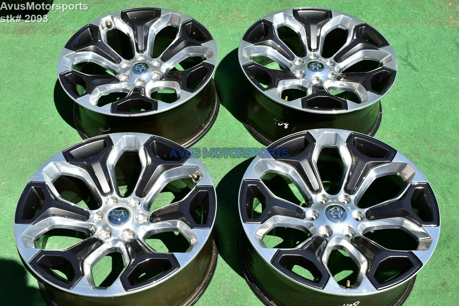 "22"" Dodge Ram Limited OEM Factory Polished Wheels 1500 Genuine 2019"