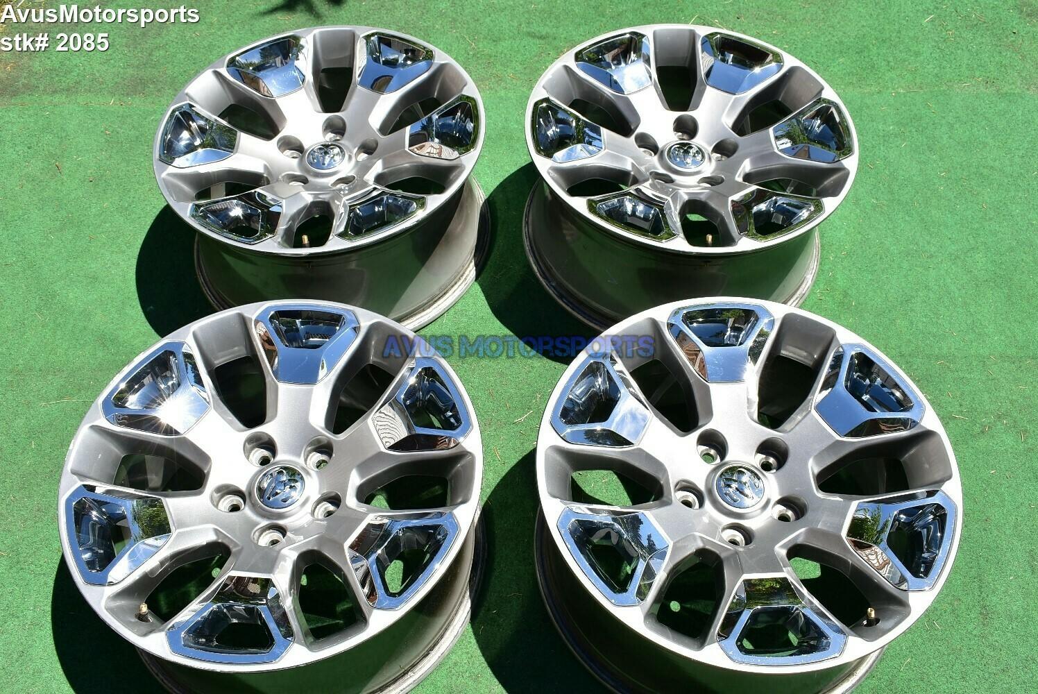 "20"" Dodge Ram 1500 LIMITED OEM Factory Wheels 2017 2016 2015 Classic"