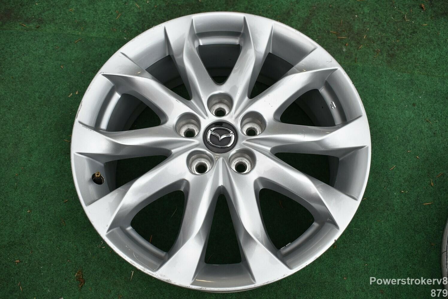 "18"" Mazda 3 GT Grand Touring OEM Wheel 9965227080"