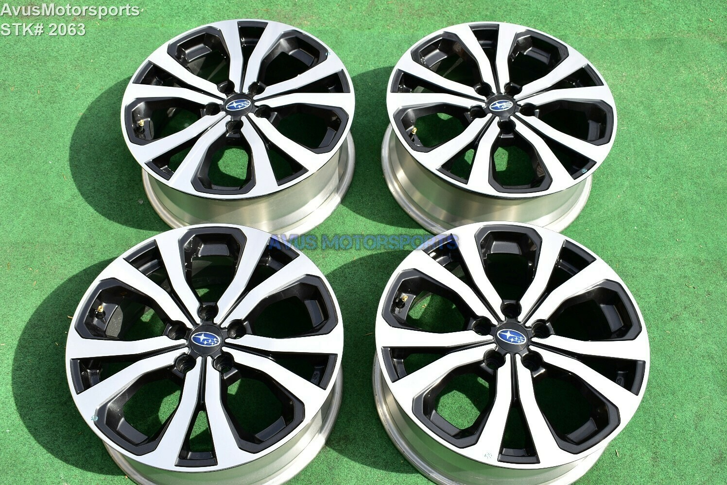 "2019 Subaru Forester Limited OEM Factory 18"" wheels"