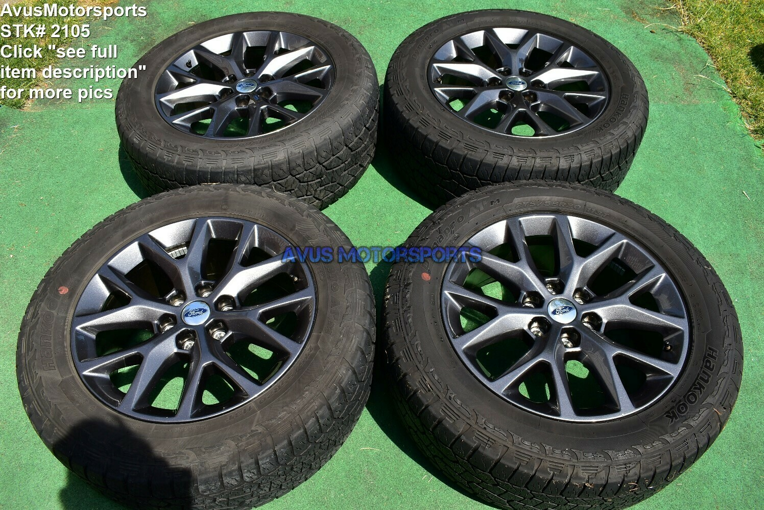 """20"""" Ford Expedition OEM Factory FX4 XLT Lariat Wheels Tires  F150 2017 2016"""