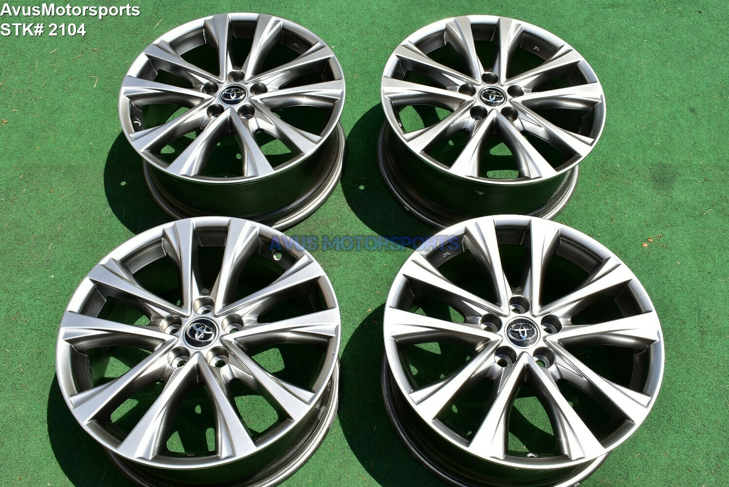 "18"" Toyota Rav4 Limited OEM Factory Genuine Wheels Camry Avalon Tacoma 2016 2017"