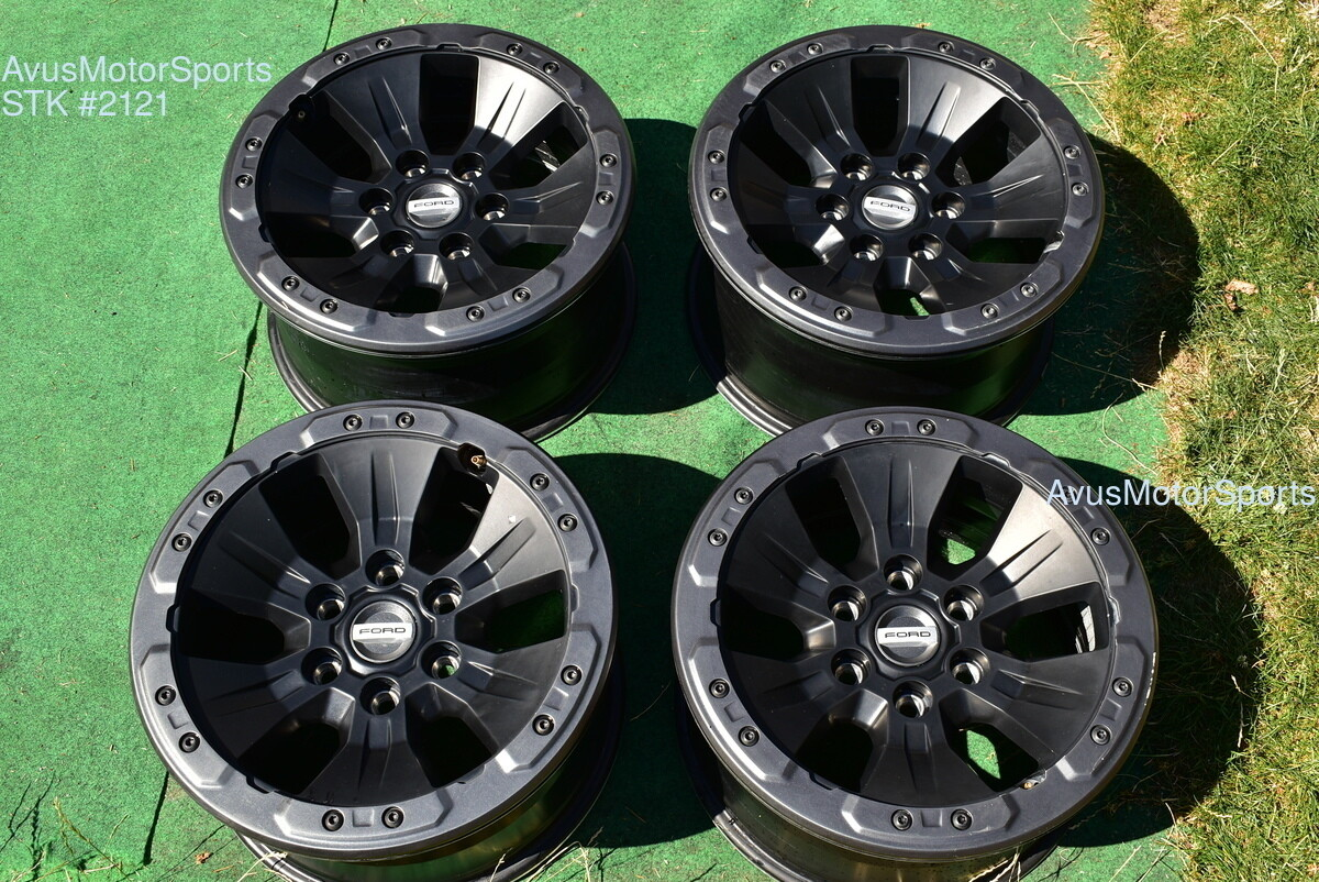 "17"" Ford F150 SVT Raptor OEM Factory Bead lock Wheel 2017 2018 2019  HL3V1A145AD"