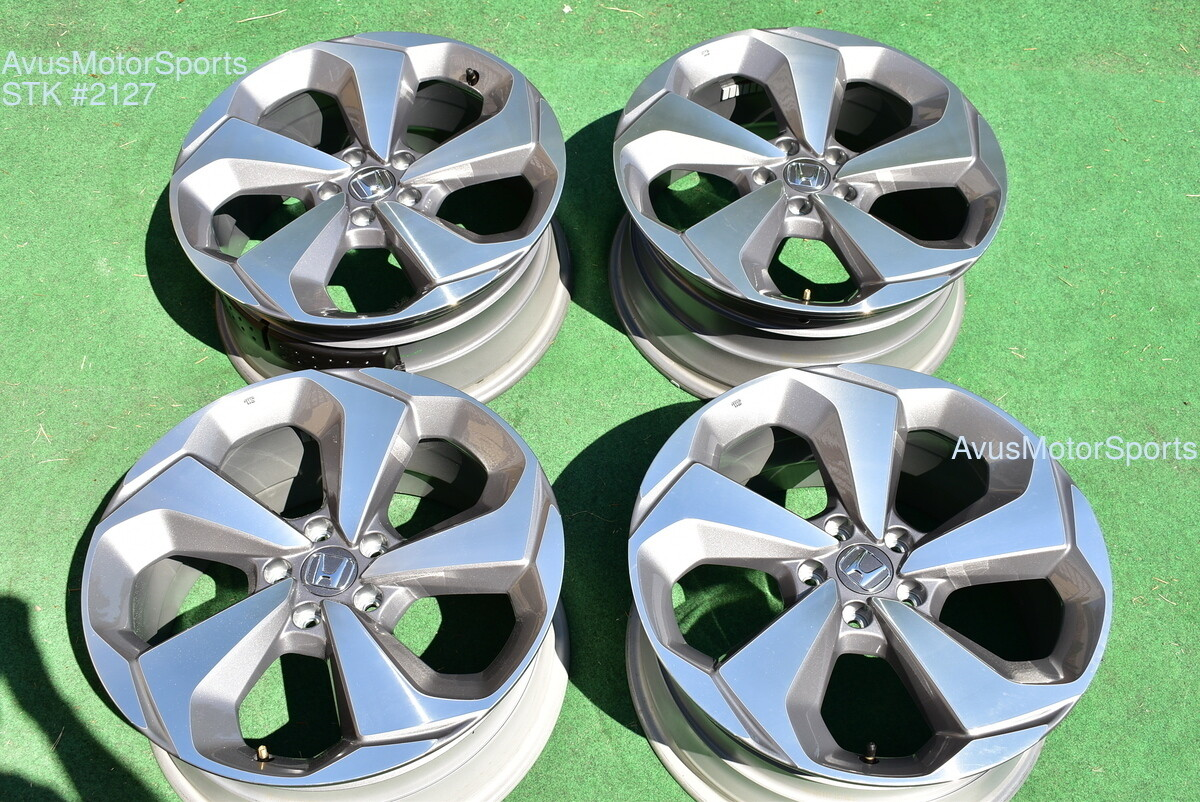 "19"" Honda Accord Touring OEM Factory Wheels 2019 2018"