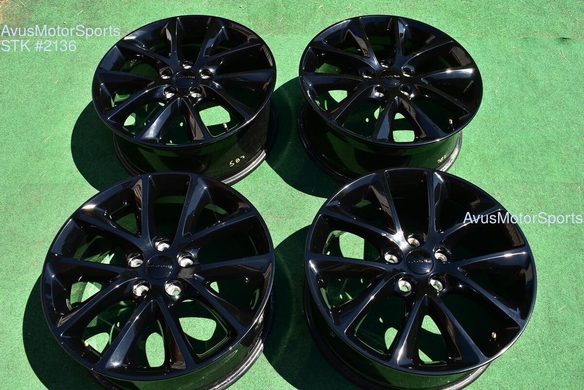 "20"" Dodge Durango OEM Factory Black Wheels  2016 2015 2014 2017 1XC17TRMAA"