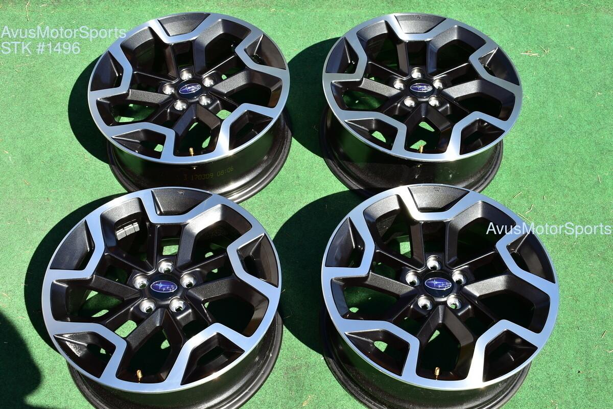 "2017 Subaru XV Crosstrek OEM 17"" Factory Wheels 5x100 Impreza Forester Outback"
