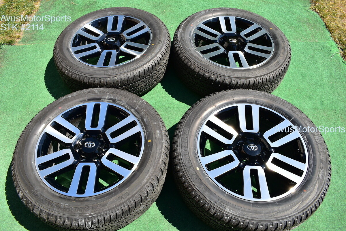 """20"""" TOYOTA 4RUNNER Limited 2018 2019 OEM FACTORY WHEELS TIRES Tundra Tacoma"""