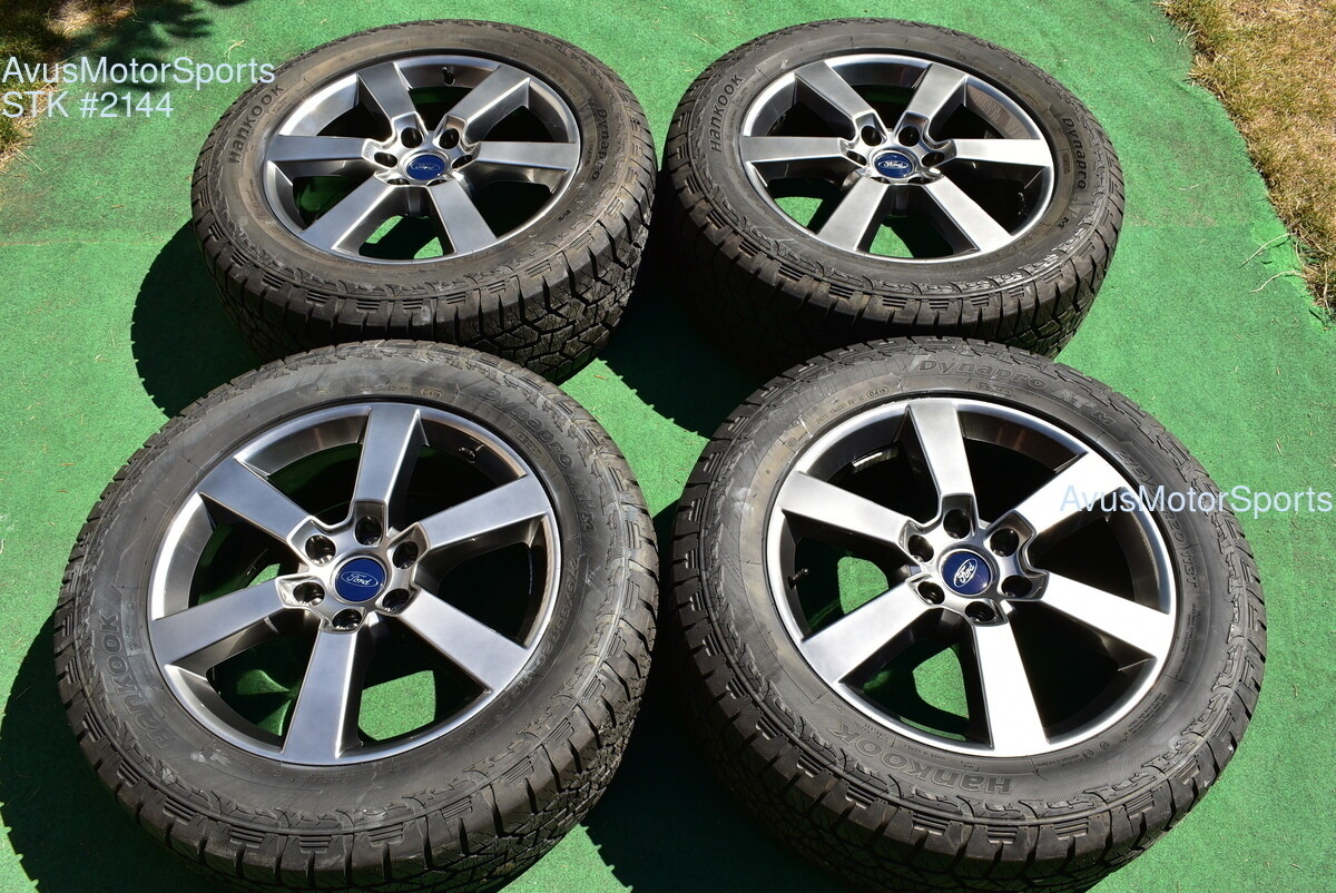 """20"""" Ford F150 OEM Factory FX4 XLT Sport Lariat Wheels Tires Expedition 2015 2016"""