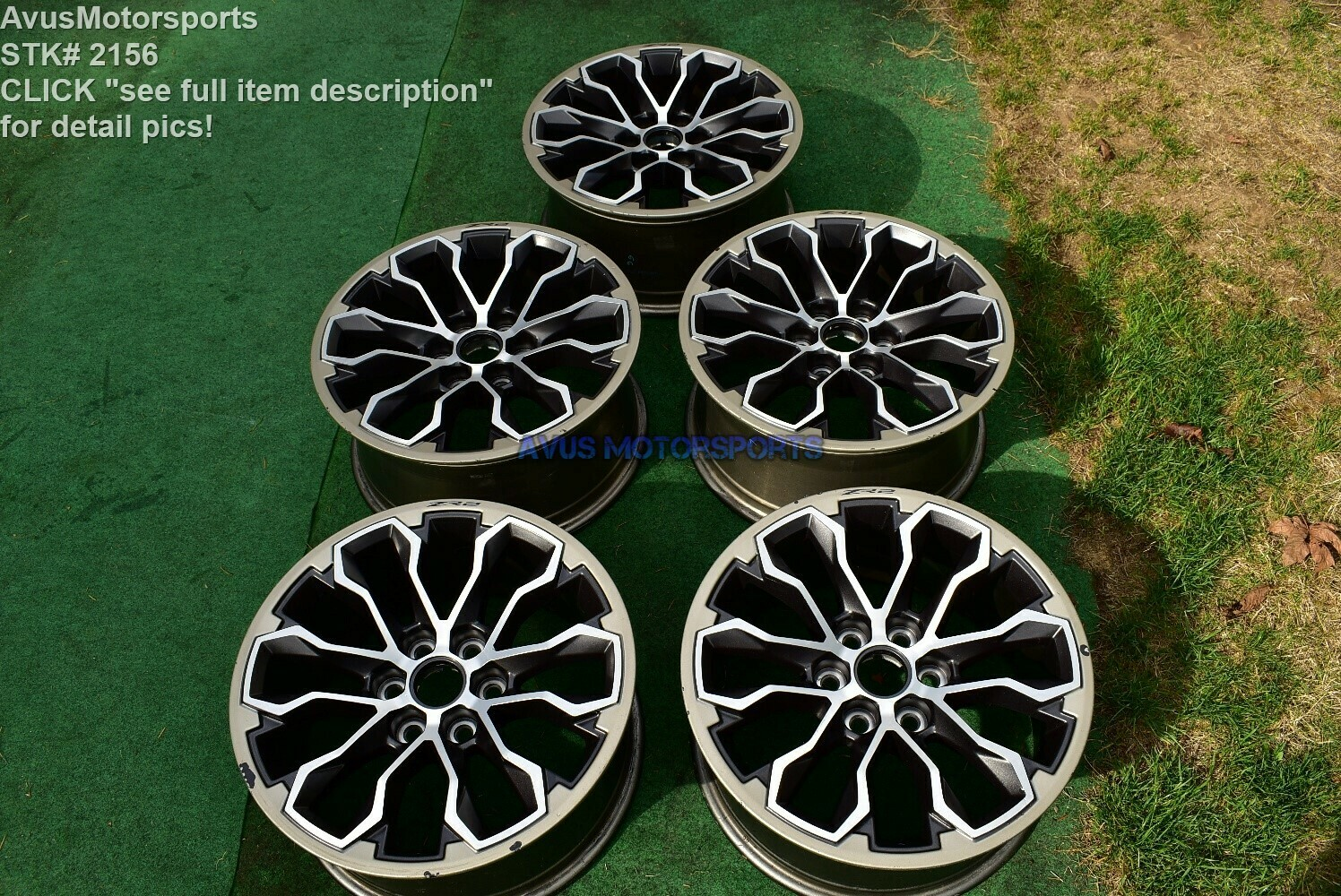 "17"" CHEVROLET COLORADO ZR2 OEM FACTORY WHEELS GMC CANYON 2018 2015 2016 2017"