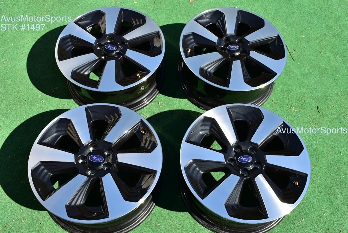 "2018 Subaru Forester OEM 17"" Factory Wheels 5x100 Impreza XV Crosstrek  Outback"