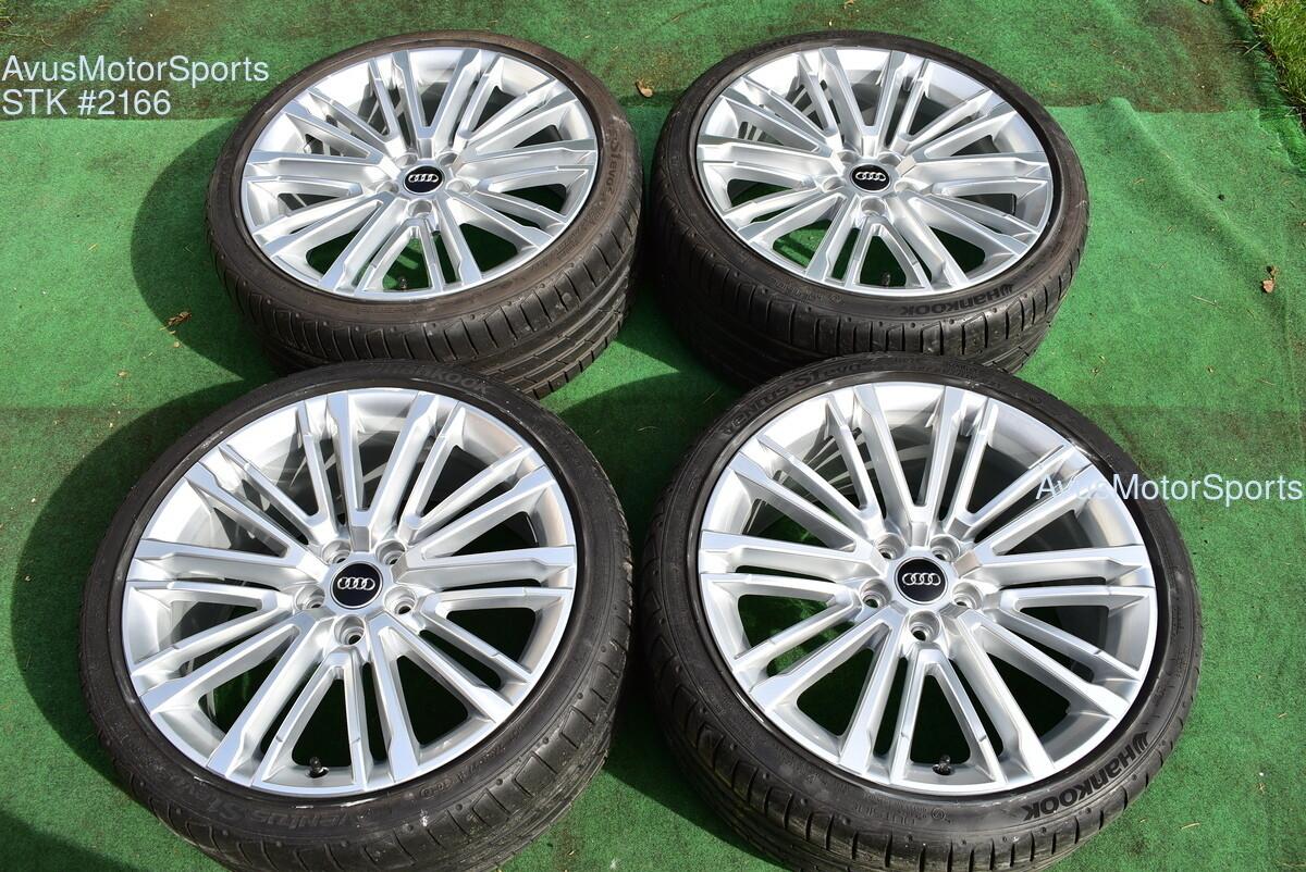 """19"""" Audi A4 Factory OEM Genuine Wheels & Tires"""
